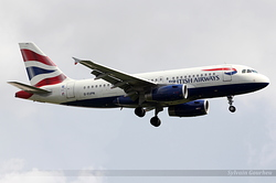 Airbus A319-131 British Airways G-EUPN