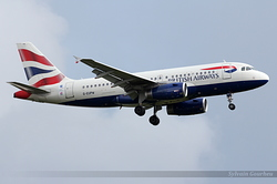 Airbus A319-131 British Airways G-EUPW