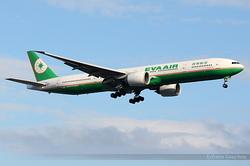 Boeing 777-35E/ER Eva Air B-16715