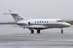Beechcraft Hawker 750 G-ZIPR