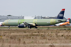 Airbus A321-213 US Airways N545UW / D-AVZY
