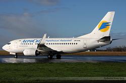 Boeing 737-548 AeroSvit Ukrainian Airlines UR-AAL