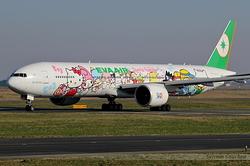 "Boeing 777-35E/ER EVA Air ""Hello Kitty"" B-16703"