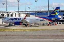Airbus A320-232 Spirit Airlines N638NK