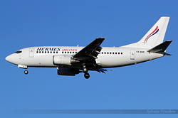 Boeing 737-5L9 Hermes Airlines SX-BHR