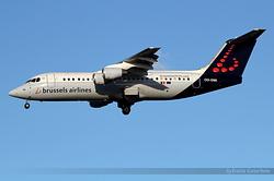 British Aerospace Avro RJ100 Brussels Airlines OO-DWI