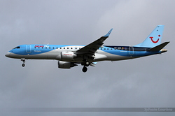 Embraer 190-100STD Jetairfly OO-JEB