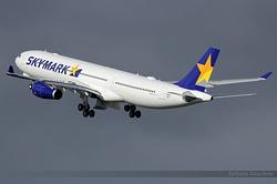 Airbus A330-343 Skymark Airlines JA330K / F-WWCS