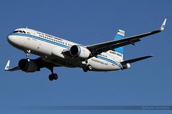 Airbus A320-214 Kuwait Airways 9K-AKH / F-WWBK