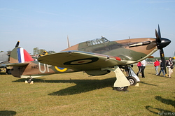 Hurricane Mk I Royal Air Force R4118 / UP-W