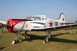 Yakovlev Yak-18T HA-CBG