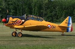 North American T-6G F-AZBQ
