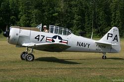 North American AT-6D F-AZRB