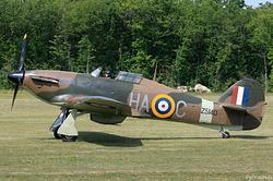Hurricane Mk XIIa Royal Air Force Z5140 / HA-C
