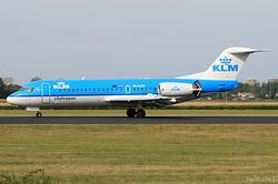 Fokker F70 KLM Cityhopper PH-KZR