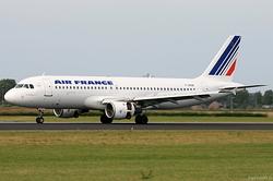 Airbus A320-211 Air France F-GHQK