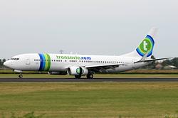 Boeing 737-8K2 Transavia Airlines PH-HZJ
