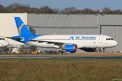 Airbus A320-214 Air Tanzania 5H-MWH