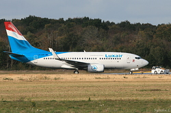 Boeing 737-7C9 Luxair Luxembourg Airlines LX-LGR