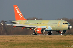 Airbus A319-111 easyJet G-EZGE / D-AVWK