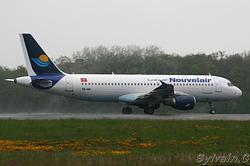 Airbus A320-212 Nouvelair TS-INN