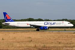 Airbus A321-131 Onur Air TC-ONJ