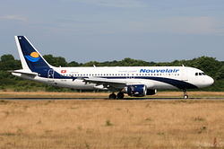 Airbus A320-212 Nouvelair TS-INI