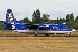 Fokker 50 VLM Airlines OO-VLE