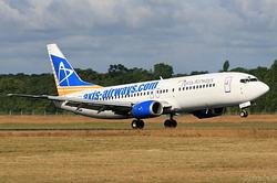 Boeing 737-4Y0 Axis Airways F-GLXQ