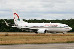 Boeing 737-7B6 Royal Air Maroc CN-RNl