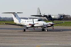 Beech Super King Air 200 Swiss Flight Services HB-GLB