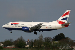 Boeing 737-528 British Airways G-GFFI