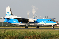 Fokker 50 KLM Cityhopper PH-KVG