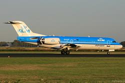Fokker F70 KLM Cityhopper PH-KZF