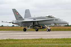McDonnell Douglas F/A-18C Hornet Switzerland Air Force J-5023