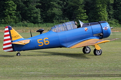 North American T-6G Texan F-HLEA