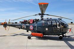 Sud-Aviation SA-316 Alouette III Marine Nationale 219