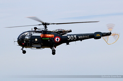 Sud-Aviation SA-319 Alouette III Marine Nationale 303