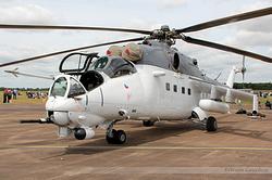 Mil Mi-24V Czech Republic Air Force 3370
