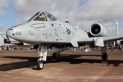 Fairchild A-10C Thunderbolt II US Air Force 78-0651 / DM