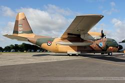 Lockheed C-130H Hercules Jordan Air Force 347