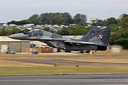 Mikoyan-Gurevich MiG-29M Poland Air Force 40