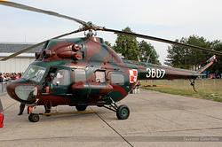 Mil Mi-2P Poland Army 3607
