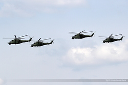 Mil Mi-24V Poland Army 174, 209, 272 & 736