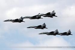 Mikoyan-Gurevich MiG-29 Poland Air Force 4110, 4120, 4121, 42, 56 & 54