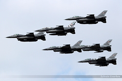 General Dynamics F-16C/D-52CF Fighting Falcon Poland Air Force 4043, 4084, 4048, 4049, 4041 & 4060