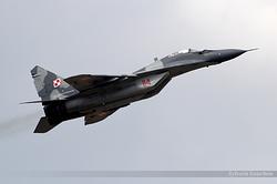 Mikoyan-Gurevich MiG-29A Poland Air Force 114