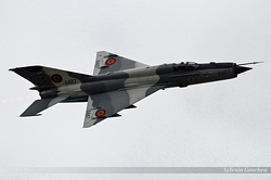 Mikoyan-Gurevich MiG-21MF-75 Romania Air Force 6487