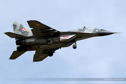 Mikoyan-Gurevich MiG-29GT Poland Air Force 4110
