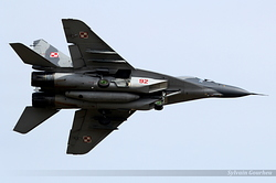 Mikoyan-Gurevich MiG-29A Poland Air Force 92